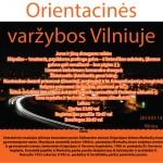 Orientacinės varžybos Vilniuje
