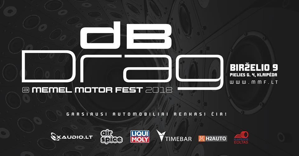 DB Drag at Memel Motor Fest'18 birželio 9