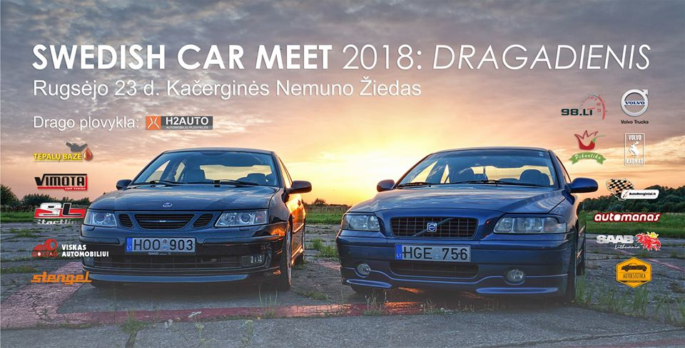 Swedish Car Meet vol.3: Dragadienis rugsėjo 23