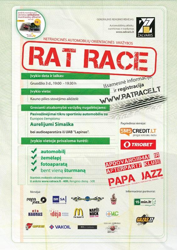 Rat Race, Kaunas 12.03