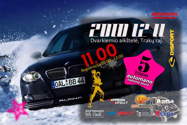 Automano Slalomo Taurė / 5 etapas