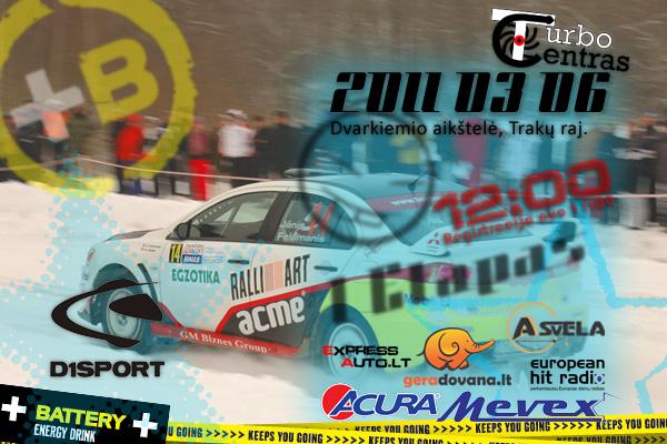 D1Sport Turbo slalomas 1 etapas