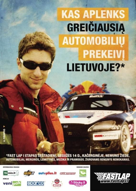 """Fast Lap 2011 """"Darom"""" I etapas (2011-05-14)"""