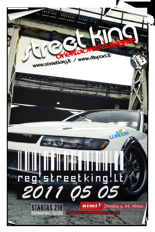 Street King | Orientacinės žaidynės 1 etapas