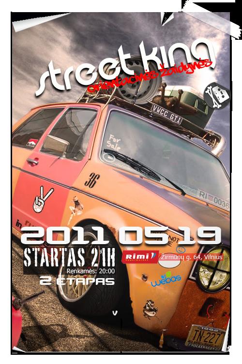 Street King | Orientacinės žaidynės 2 etapas