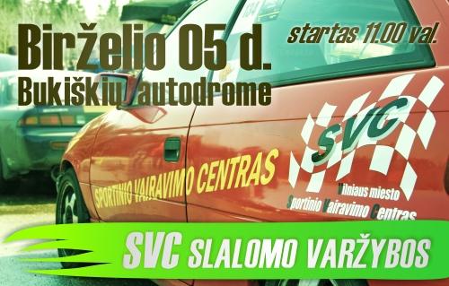 SVC Slalomo varžybos