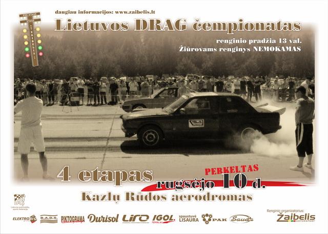 Lietuvos DRAG čempionato IV etapas – 2011.09.10