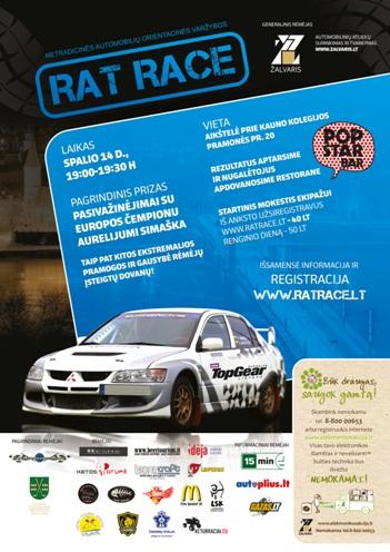 Rat Race – spalio 14 – Kaunas