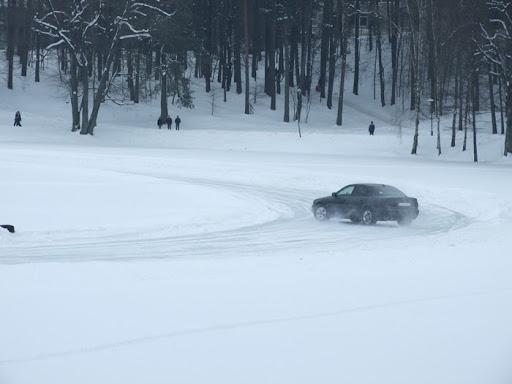 Ralis Druskonio ezero ledu 2012 02 16
