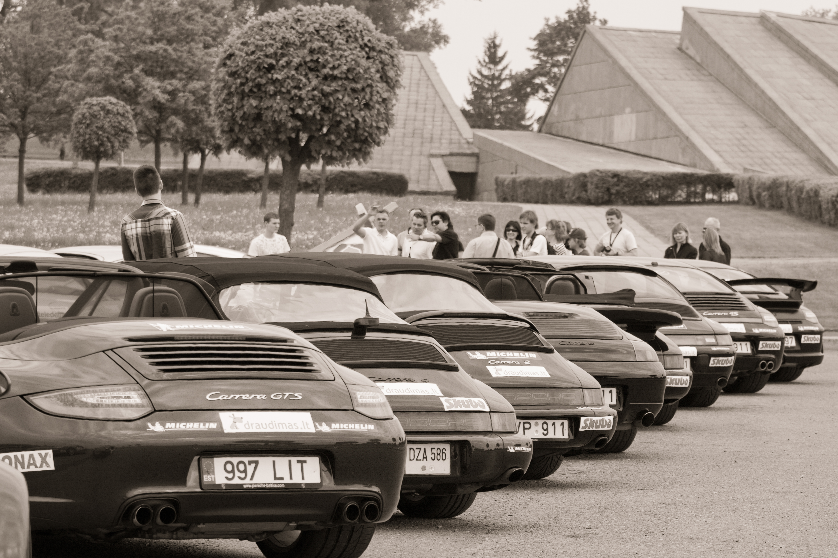 Porsche klubas Lietuva sezono atidarymas