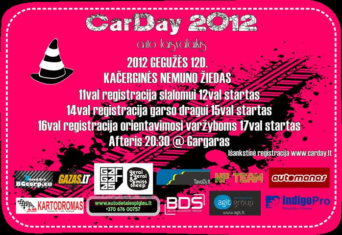 CarDay 2012 gegužės 12d. @ Nemuno žiedas