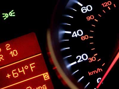 Koks automobilio greitis yra ekonomiškiausias?