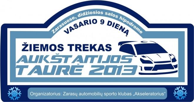 Žiemos trekas Aukštaitijos taurė 2013