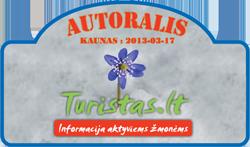 Turistinis autoralis Lietuvoje 2013.03.17