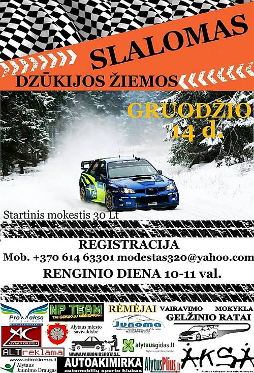 Dzūkijos Žiemos Slalomas