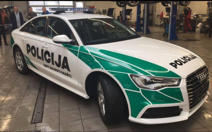 Naujas Lietuvos policijos tarnybinio automobilio dizainas