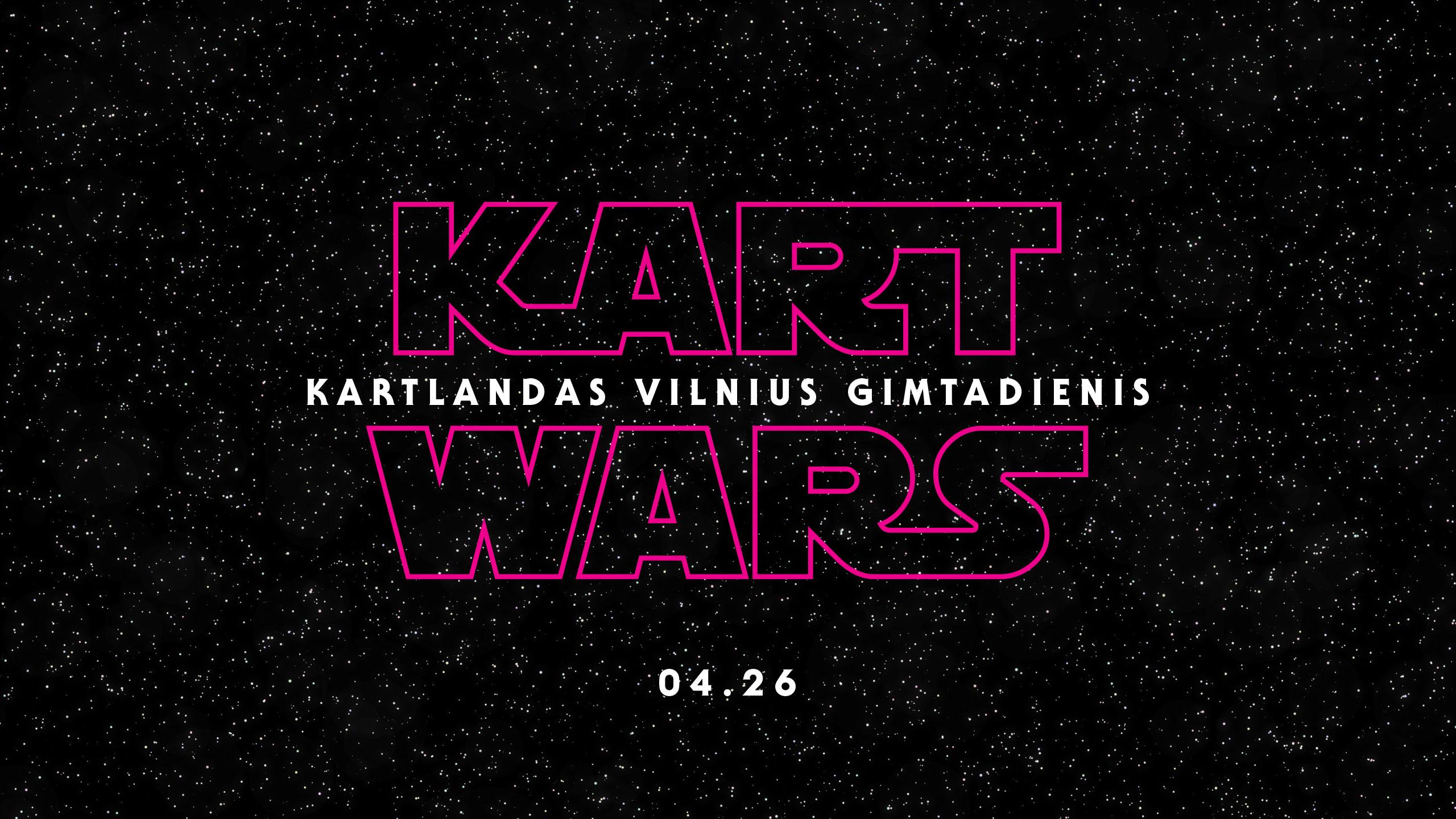 Kart Wars | 2-asis Kartlandas Vilnius gimtadienis